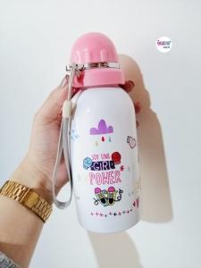 Botilito personalizado tapa rosca rosa - BYNOVALUNA