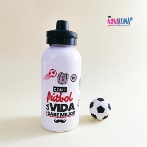 Caramañola 400 ml fútbol - BYNOVALUNA