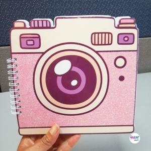 Cuaderno Cámara Fotográfica - BYNOVALUNA
