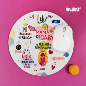 Pad mouse personalizado Lupita - BYNOVALUNA