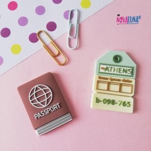 Sticker siliconado Passport - BYNOVALUNA