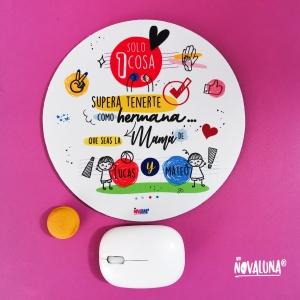 Pad mouse personalizado para hermanas - BYNOVALUNA