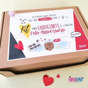Kit de aniversario - BYNOVALUNA