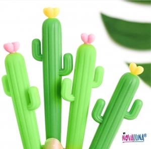 Esfero cactus amarillo - BYNOVALUNA
