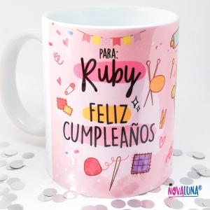 Mug personalizado cumpleaños - BYNOVALUNA