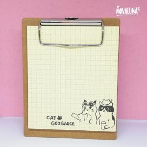 Miniplanillero gato amarillo - BYNOVALUNA